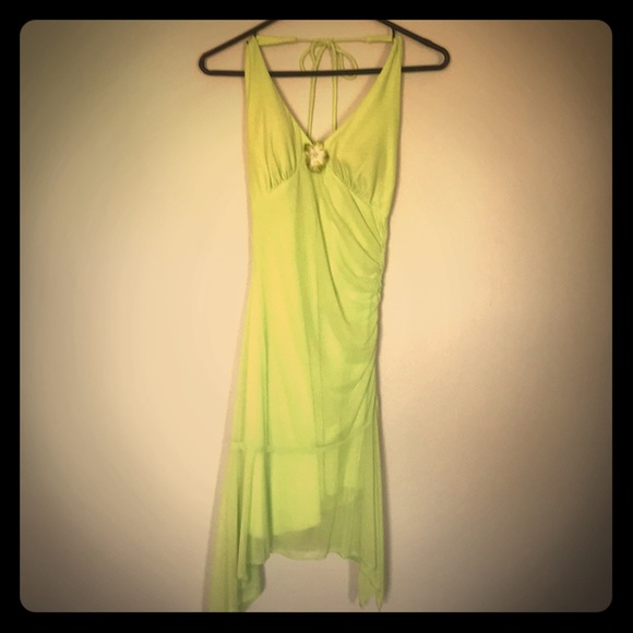 Dresses & Skirts - Lime Dress
